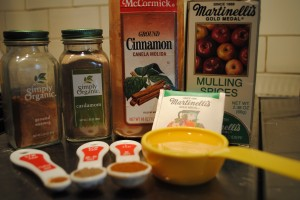 Photo of ingredients for possibly pear sauce blog post by charis freiman-mendel, author of cook your way through the s.a.t.
