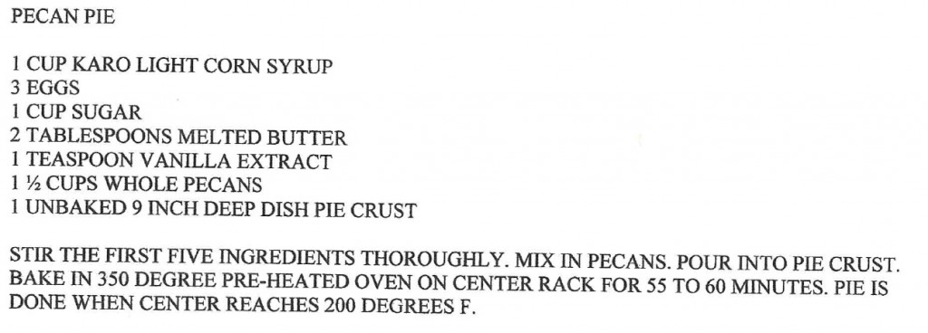 Southern pecan pie recipe from east texas for blog by charis freiman-mendel, author of cook your way through the s.a.t., on martin luther kind day and southern double pecan pie