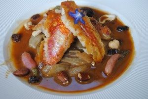 "Photo of dinner dish for blogpost, ""Pictures From France: Part Deux, on www.SATgourmet.com, by author of ""Cook Your Way Through The S.A.T,"" Charis Freiman-Mendel."