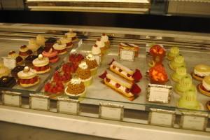 "Photo of Ladurée pastries for blogpost, ""David Lebovitz's Paris,"" on website www.SATgourmet.com, by author of Cook Your Way Through The S.A.T., Charis Freiman-Mendel."