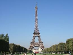 """Photo of The Eiffel Tower for blogpost, """"David Lebovitz's Paris,"""" on website www.SATgourmet.com, by author of Cook Your Way Through The S.A.T., Charis Freiman-Mendel."""
