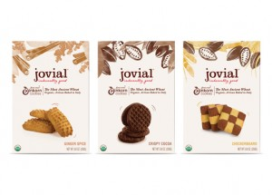 "Photo of Jovial Cookies for blog post, ""Review: Jovial Food Products,"" on www.SATgourmet.com, by author of Cook Your Way Through The S.A.T., Charis Freiman-Mendel."